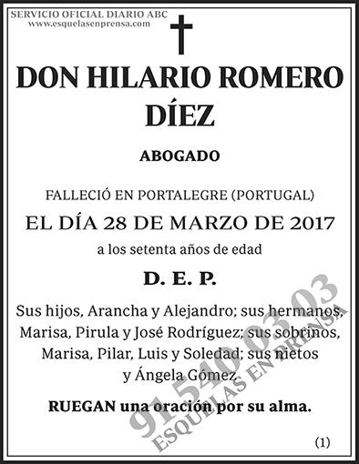 Hilario Romero Díez